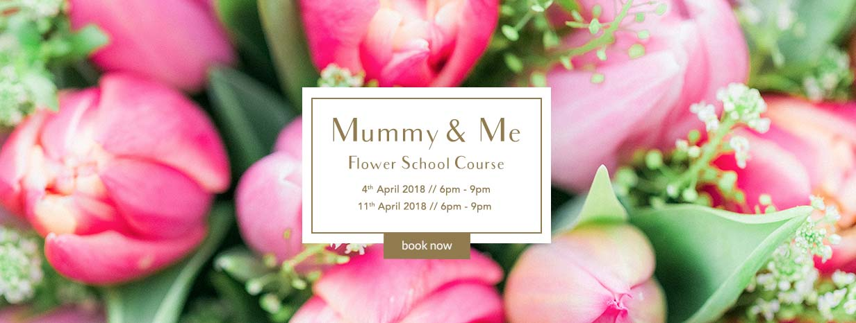 mummy and me flower course for mother's day