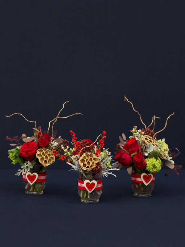 amie bone flowers christmas collection