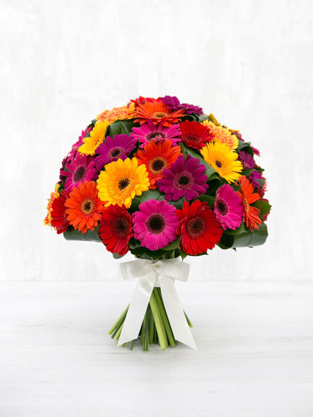 gerbera splendour bouquet by amie bone flowers