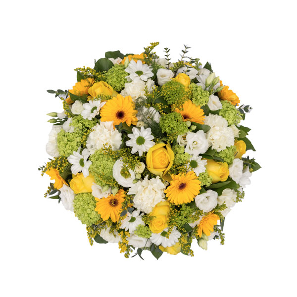Bright & Colourful Funeral Posy