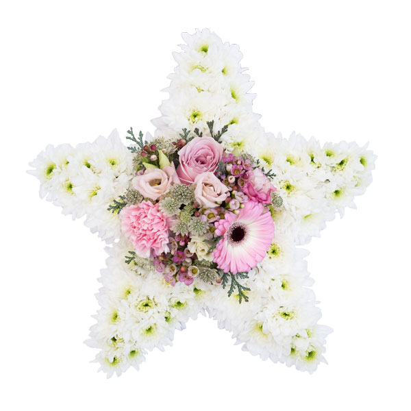 Special Tribute Funeral Flowers Star