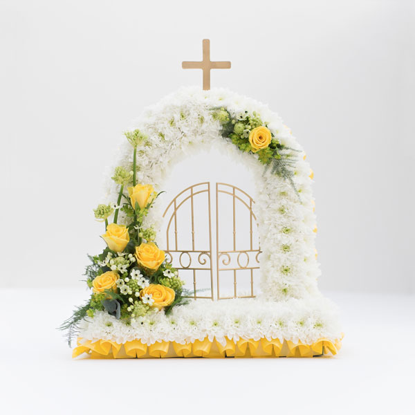 Special Tribute Funeral Flowers Gates Of Heaven
