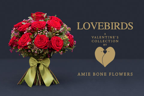 lovebirds, a valentine's collection by amie bone flowers