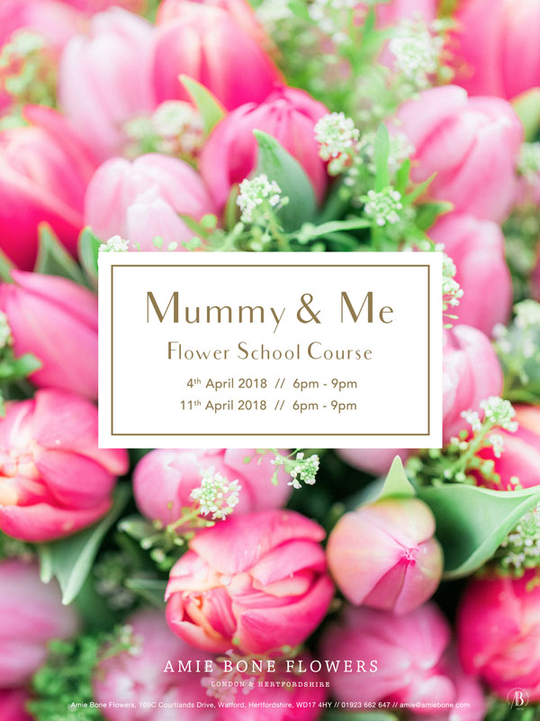 mummy and me flower course