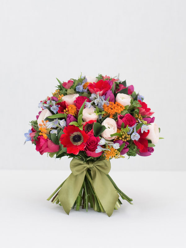 early flora spring bouquet of flowers from amie bone flowers