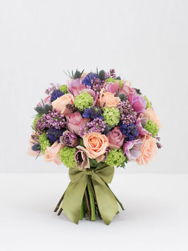 heavenly lilac spring bouquet of flowers from amie bone flowers