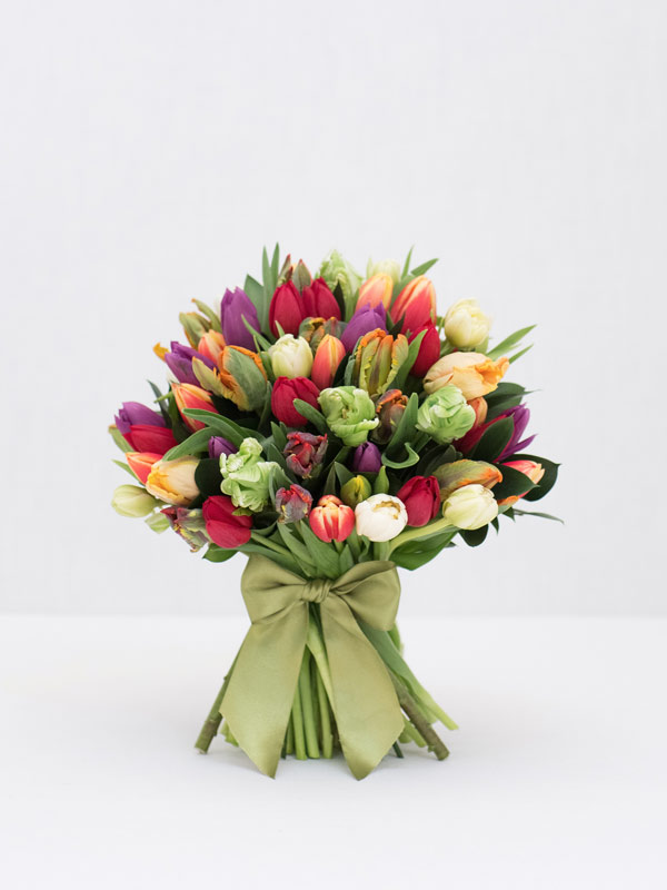 tremendous tulips spring bouquet of flowers from amie bone flowers