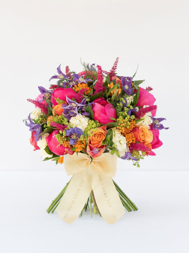 Summer flowers from Amie Bone, Indian Summer bouquet