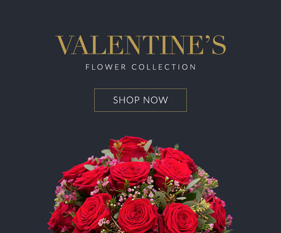 Valentine's flower collection, order now