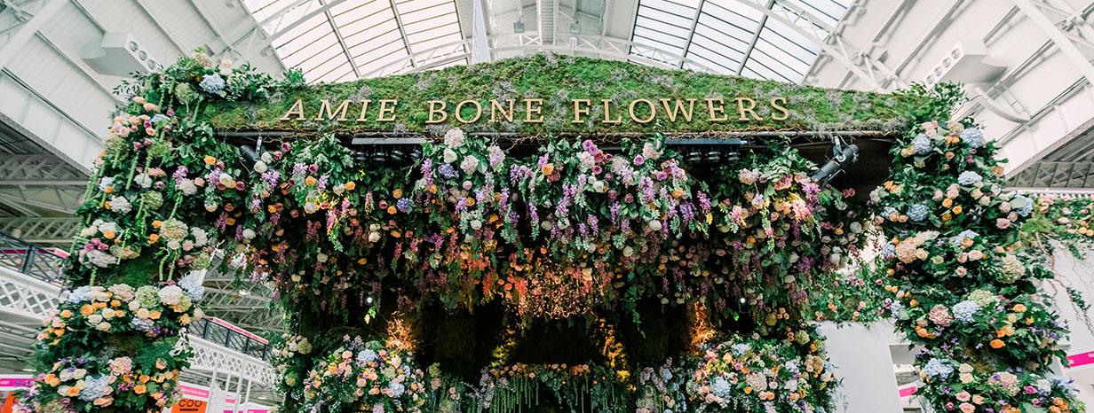 amie bone flowers the national wedding show london 2016 enamour