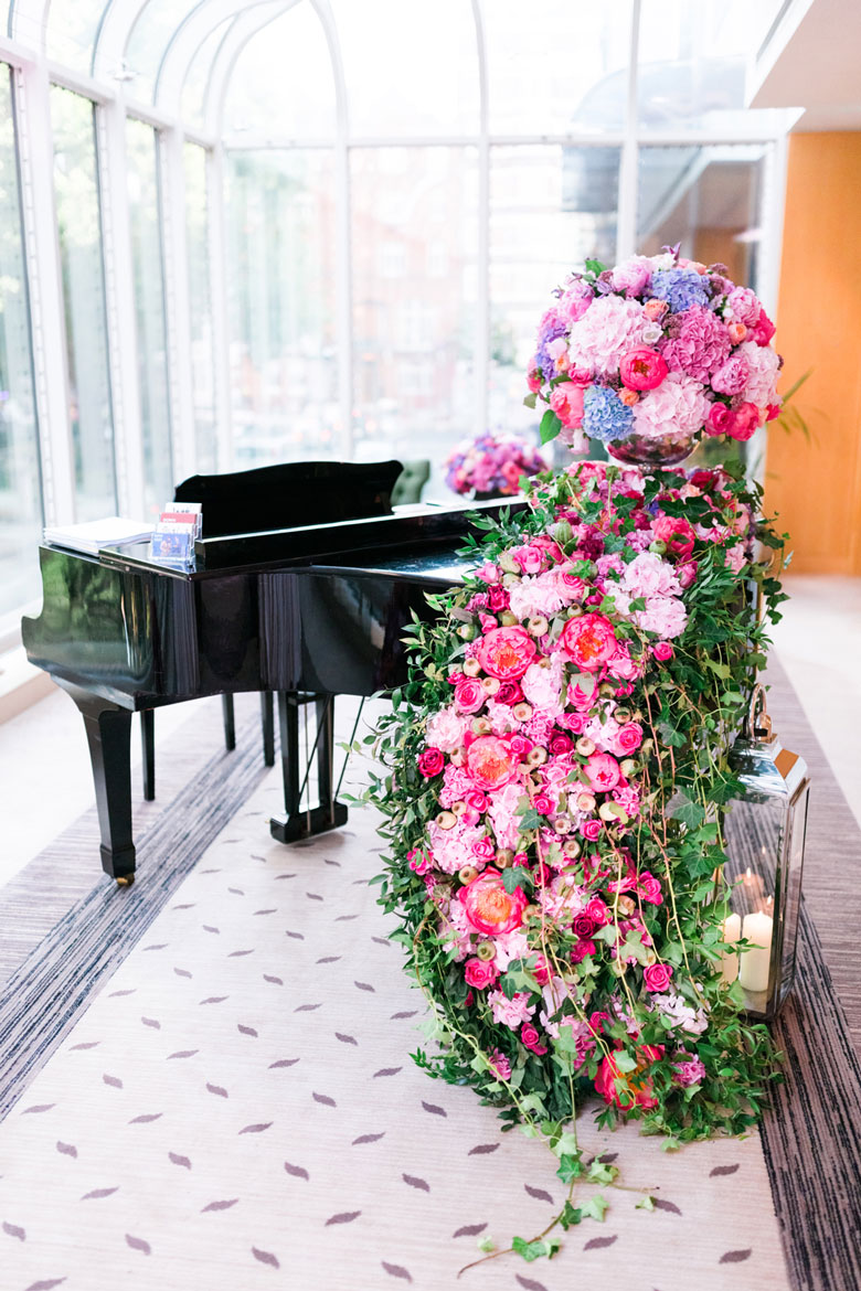 amie bone flowers summer soiree at the jumeirah carlton tower, knightsbridge
