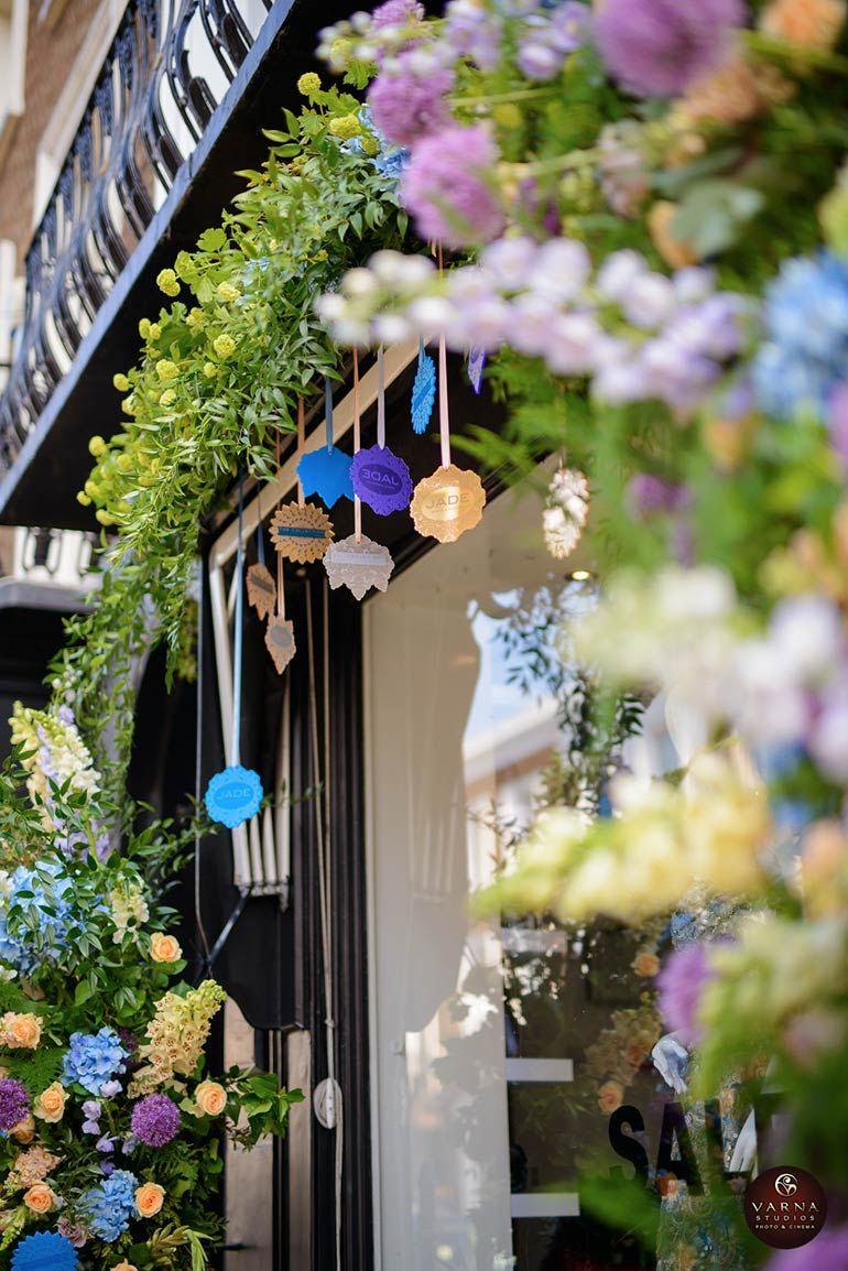 amie bone flowers beauchamp place knightsbridge shopfront design