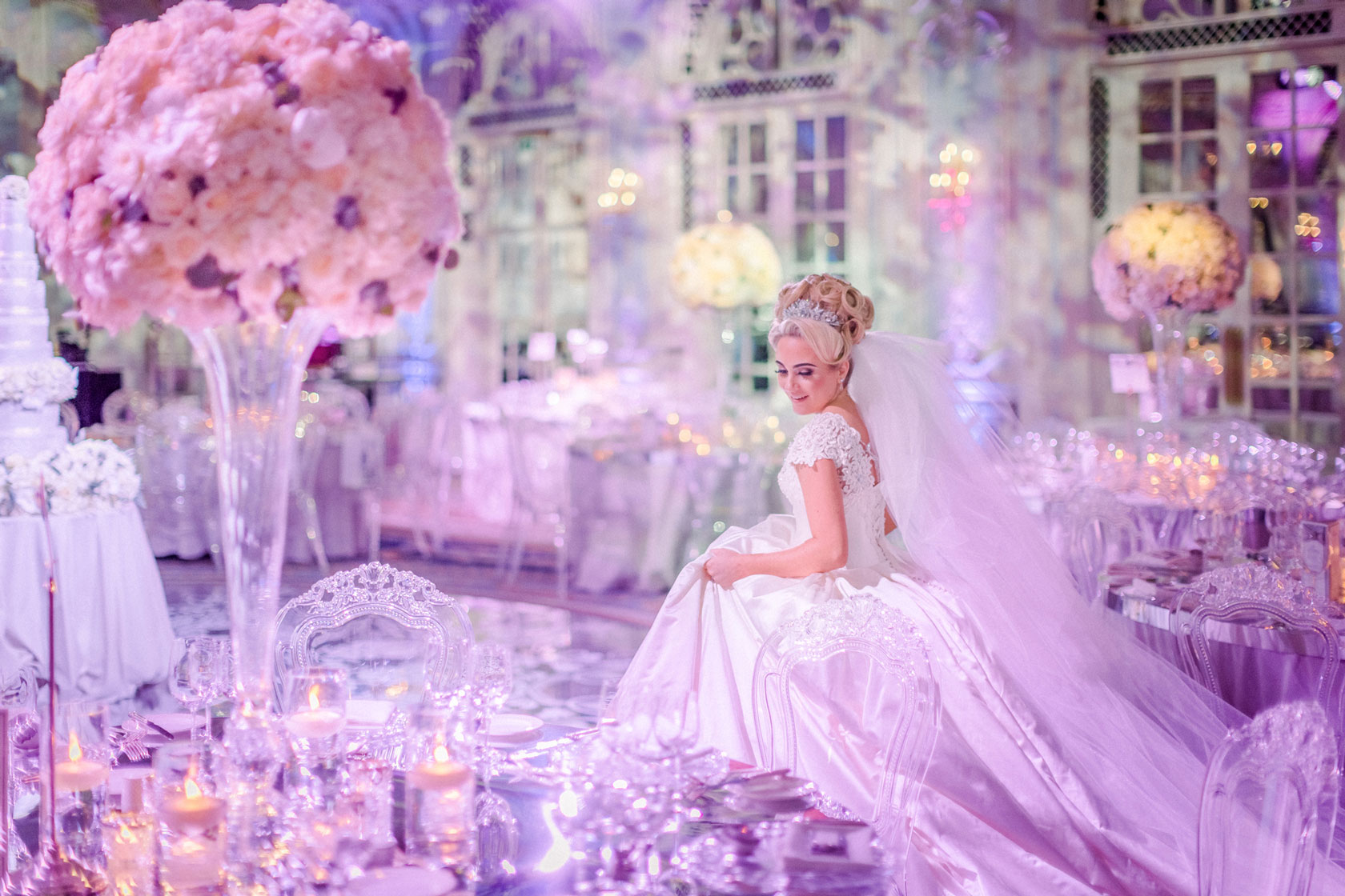 Bride at The Savoy by Amie Bone